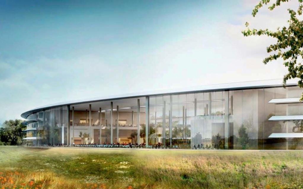 8 интересных фактов о новом кампусе Apple SpaceShip