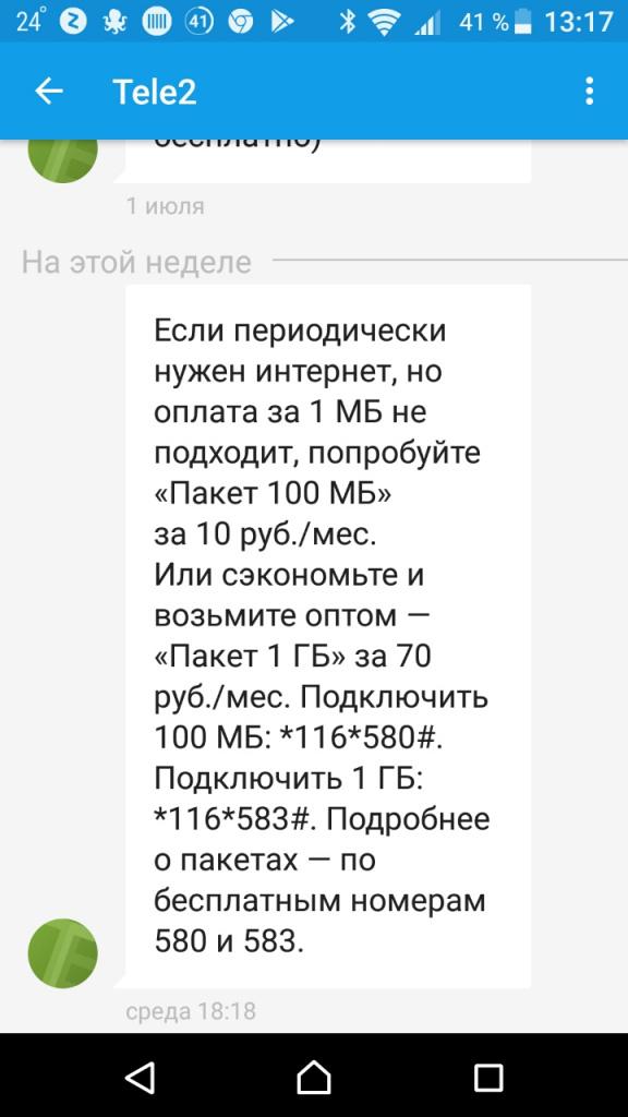 Мобильный интернет за 10 рублей в сутки