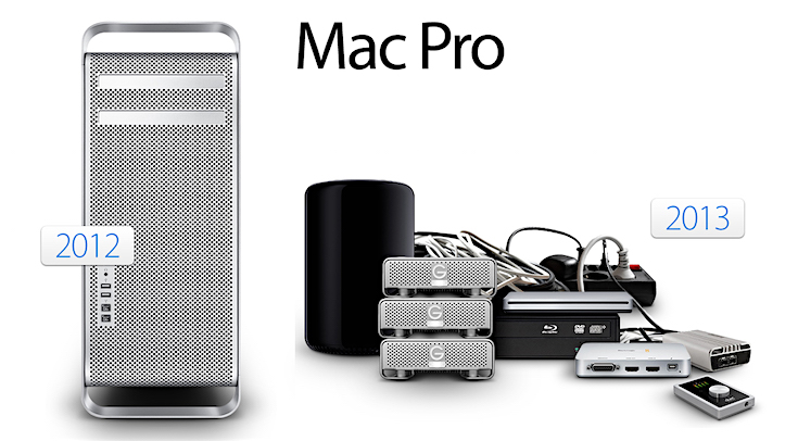 Old And New Mac Pro