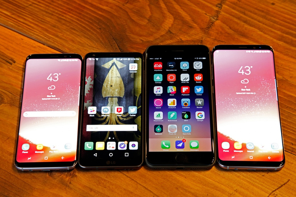 Galaxy S8, LG G6, iPhone 7 Plus and Galaxy S8+.jpg