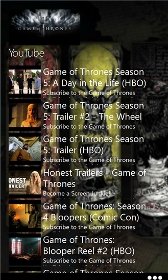 News Game of Thrones