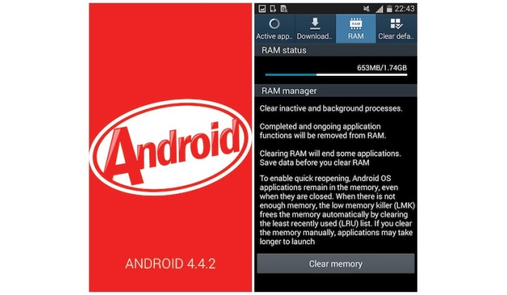 KitKat на Galaxy Note II