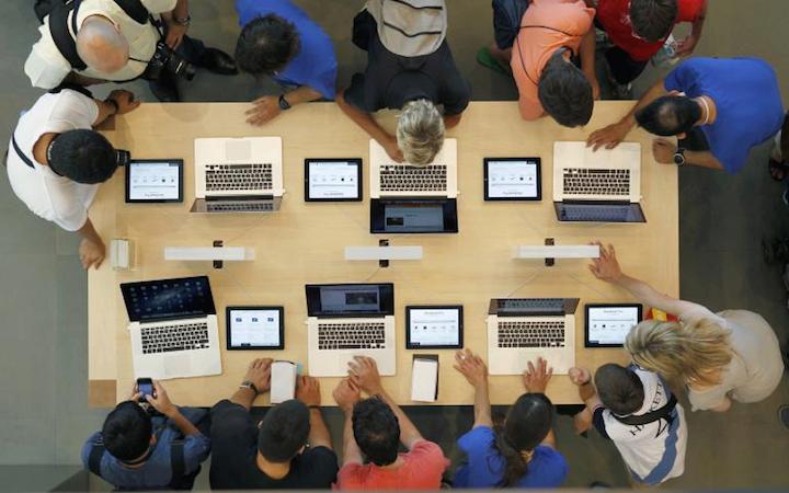 Продажи Mac бьют рекорды