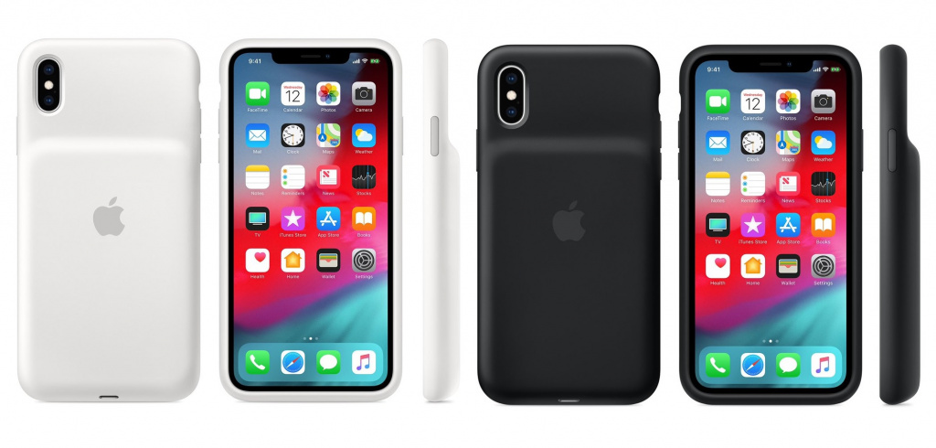 Apple в России запустила продажи чехлов Smart Battery для iPhone XR, XS и XS Max
