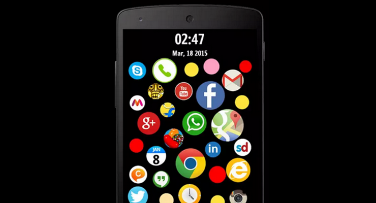 Bubble Screenlock Launcher