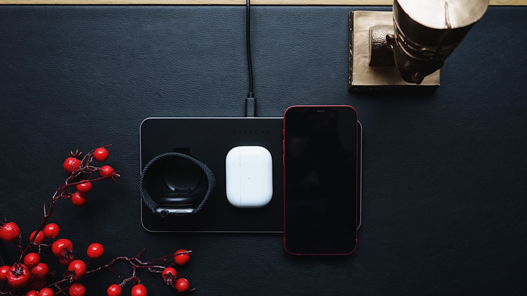 Обзор Satechi Trio Wireless Charging Pad