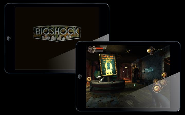 Обзор мобильной версии Bioshock