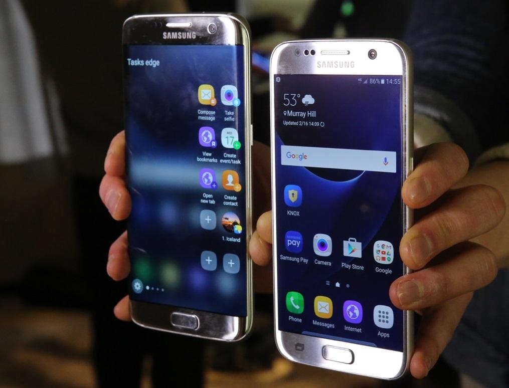 Galaxy S7 и Galaxy S7 edge — новые флагманы Samsung