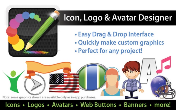 Icon Logo & Avatar Designer