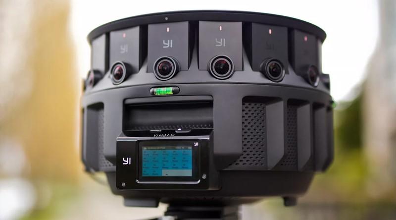 Google продемонстрировал миру новейшую камеру YiHalo