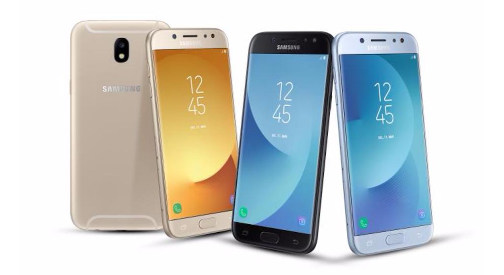 Samsung официально анонсировала смартфоны Galaxy J (2017)