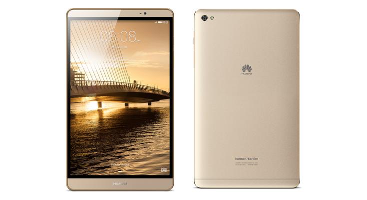 Huawei MediaPad M2 — планшет со звуком HARMAN