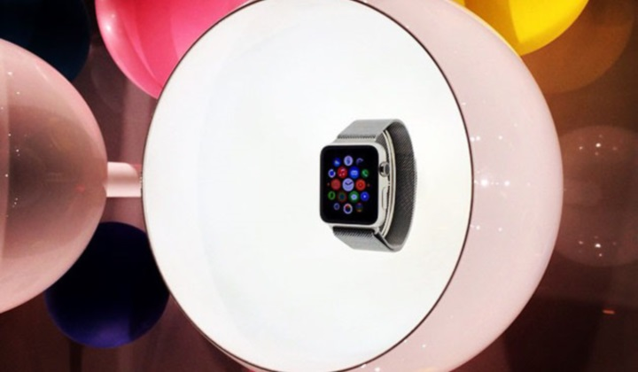 Apple Watch в Париже