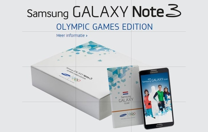 Galaxy Note 3 «Olympic Games Edition»
