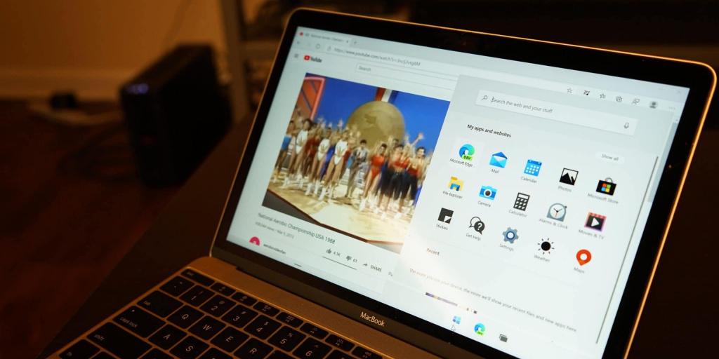 Windows 10X на MacBook