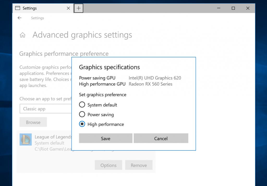 Как сделать приоритет на видеокарту. Как переключить видеокарту на ноутбуке?