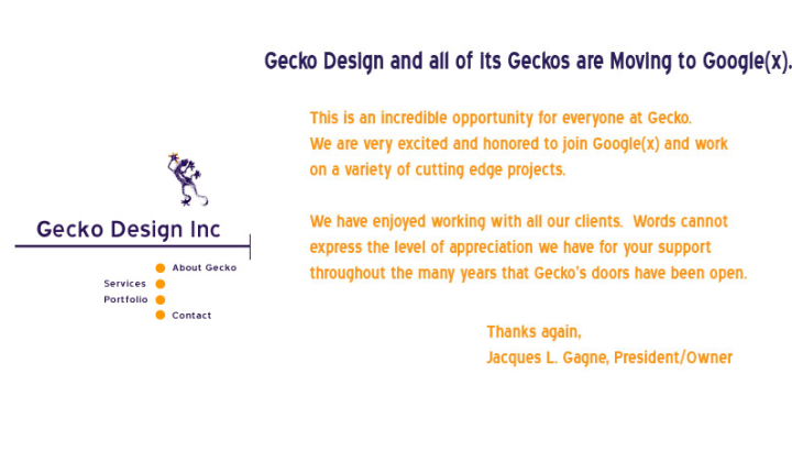 Gecko Design