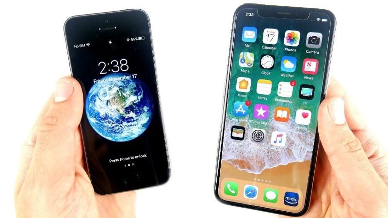 iPhone X и SE