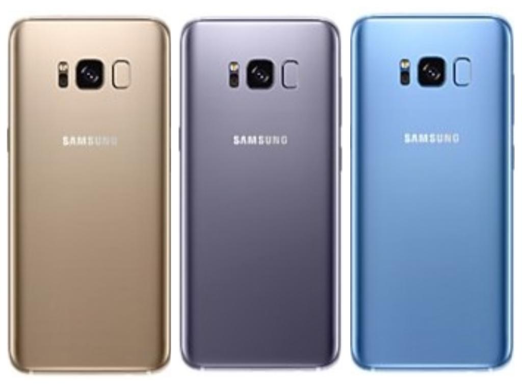 Три новых цвета Galaxy S8