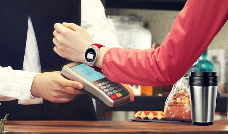 Samsung Gear S3 Samsung Pay