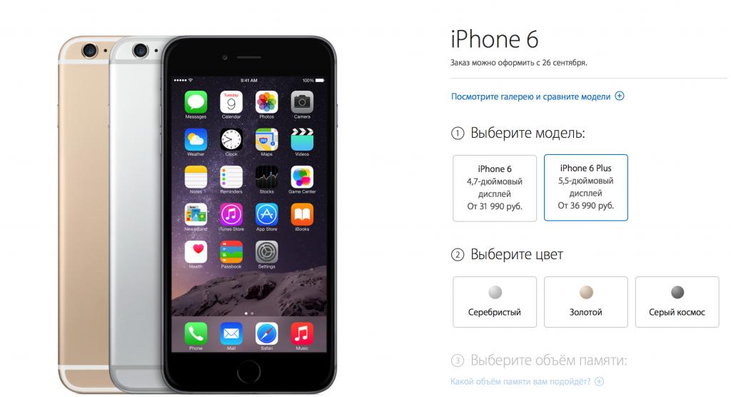 Стала известна стоимость iPhone 6 в России и дата предзаказа (Опрос)