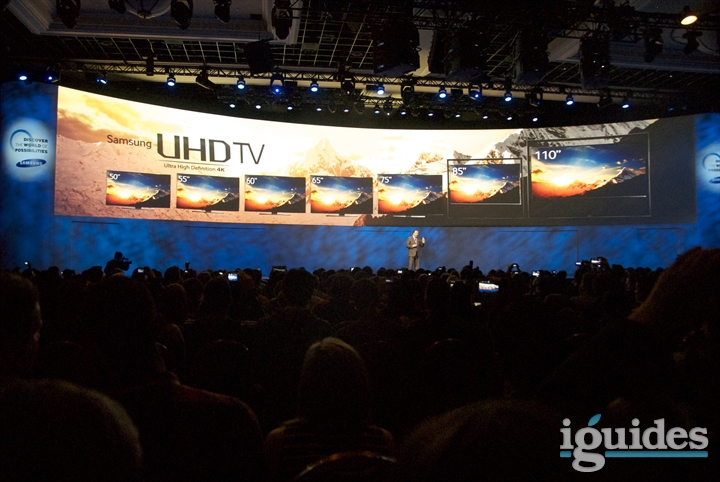 Пресс-конференция Samsung на выставке CES
