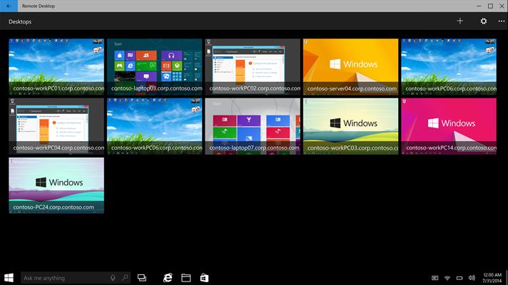 На Windows 10 и Windows 10 Mobile вышло приложение Microsoft Remote Desktop