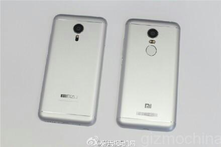 Redmi Note 2 и Meizu