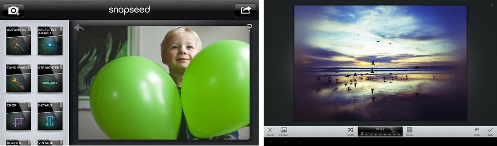 Best free photo editor: Snapseed