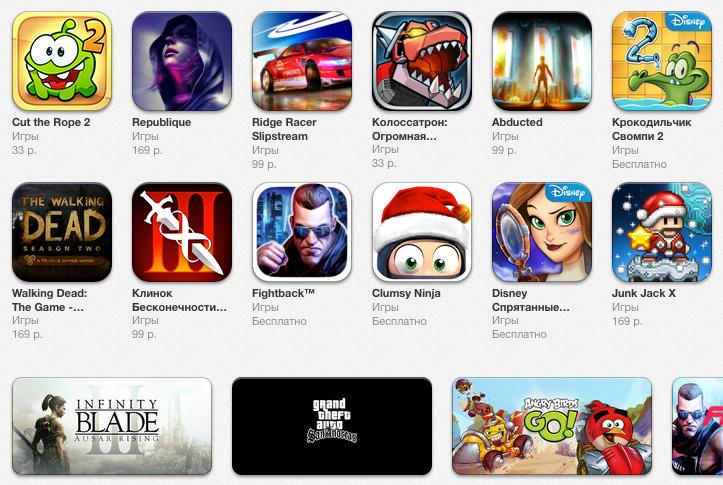 лучшие тяжеловесные игры для iOS на iGuides.ru