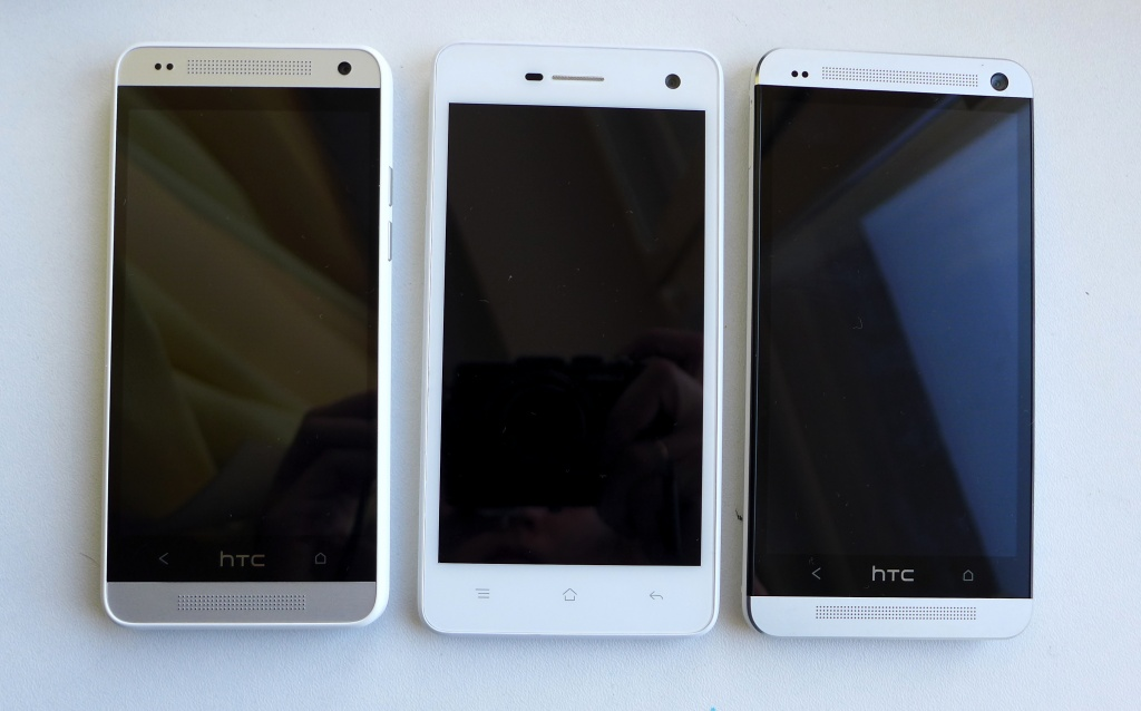 HTC One mini, OPPO Mirror и HTC One