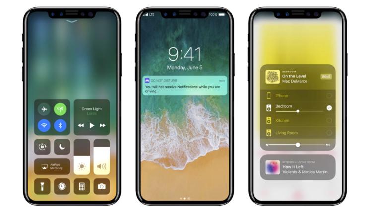 Смартфон iPhone 8 получит функцию беспроводной зарядки