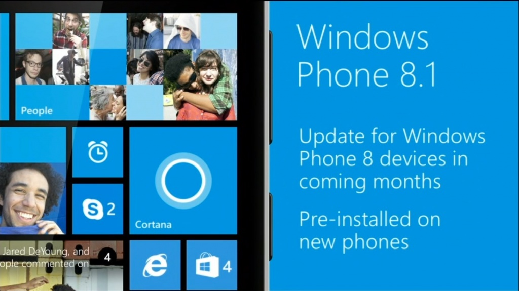 Анонс Windows Phone 8.1