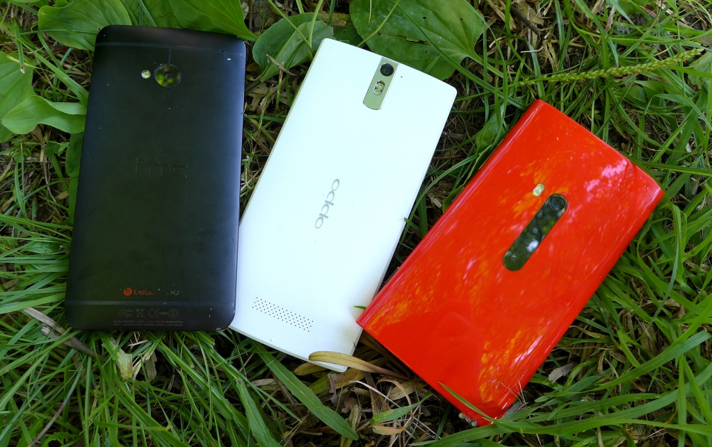 OPPO Find 5, HTC One, Nokia Lumia 920