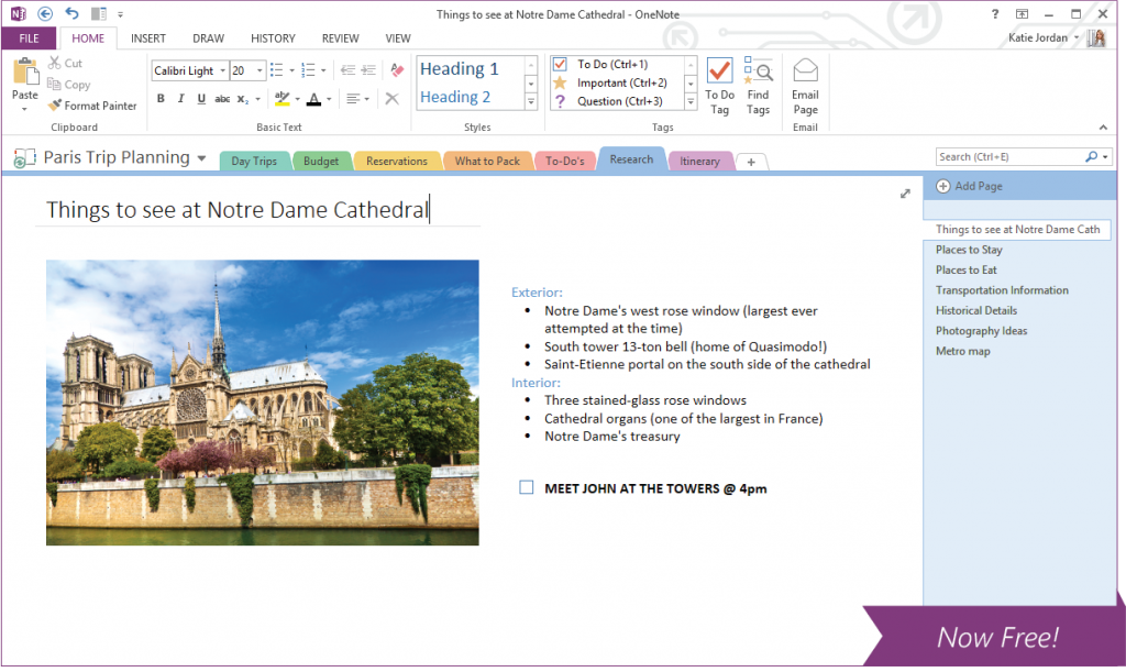 OneNote для Windows