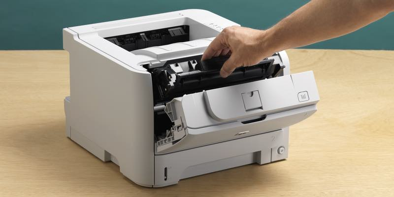 Принтер редко кончается картридж