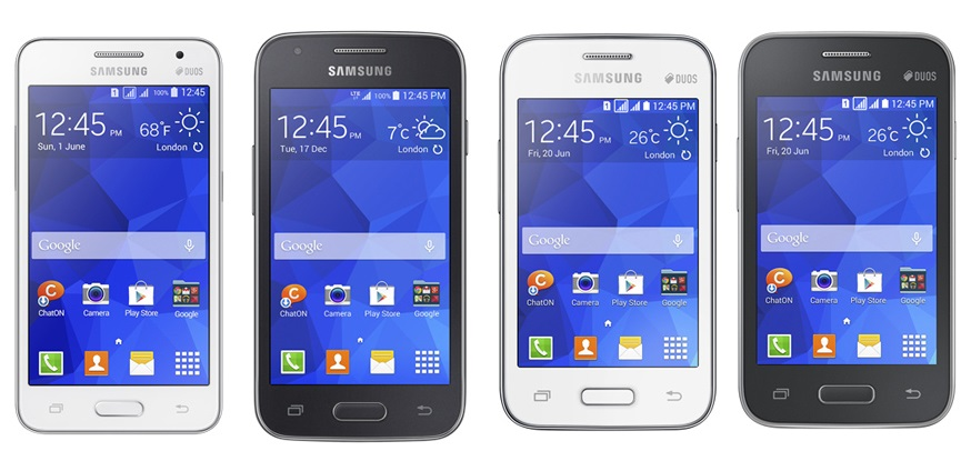 Galaxy Core II, Galaxy Ace 4, Galaxy Young 2 и Galaxy Star 2