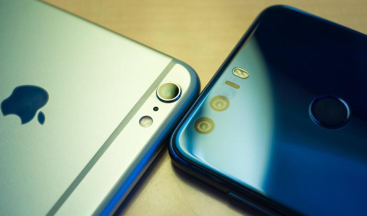 Huawei опередил Apple попродаже телефонов