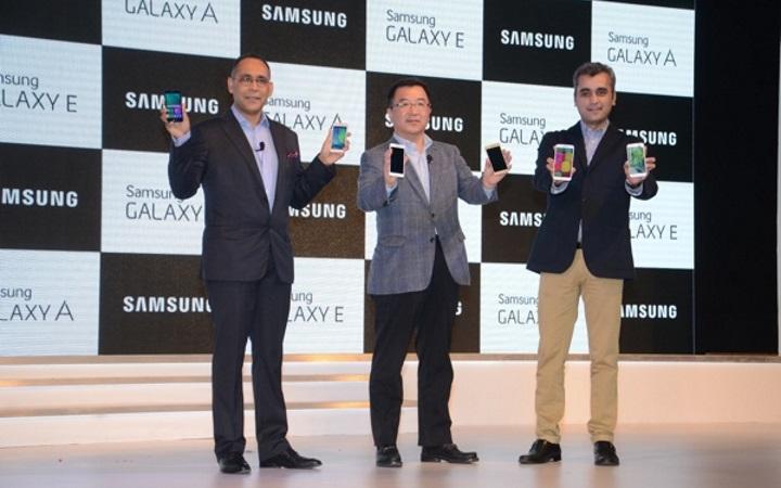 Samsung представила смартфоны новой серии Galaxy E