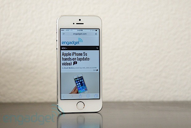 iPhone 5s / Engadget