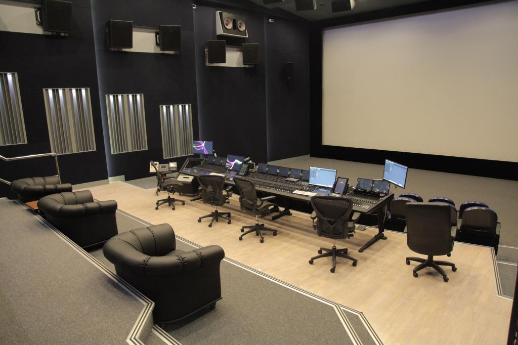 Студия Dolby Atmos Premier на Мосфильме