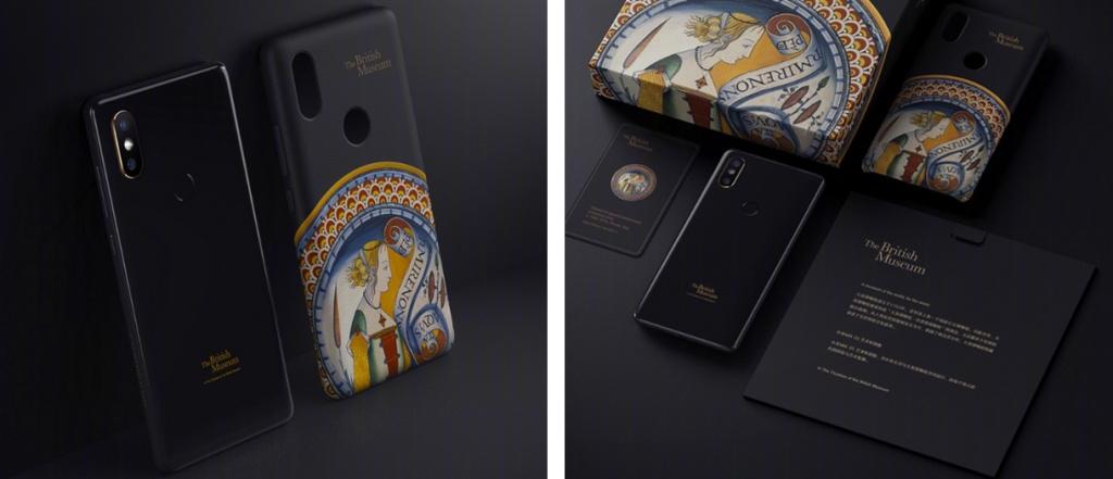 Xiaomi выпустила «музейную» серию Mi Mix 2S Art Special Edition