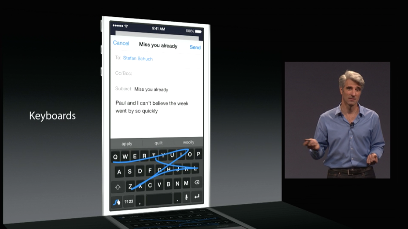 Apple introduced iOS 8