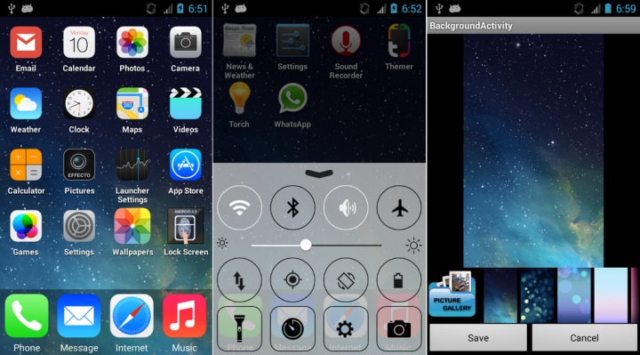 iFone 5S Launcher Theme