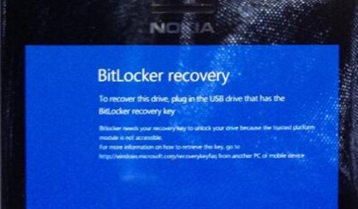 Ошибка расшифровки BitLocker