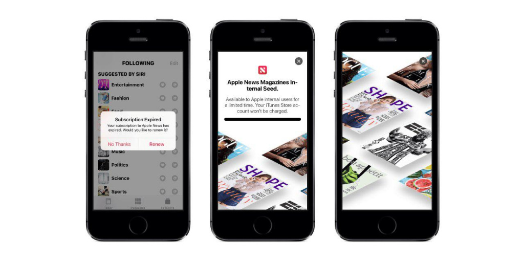 Apple News Magazines
