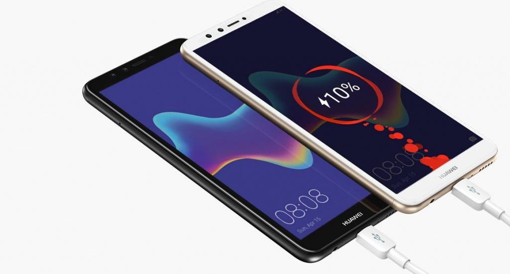Смартфон Huawei Y9 2018 счетырьмя камерами появился вРФ за15 990 руб.