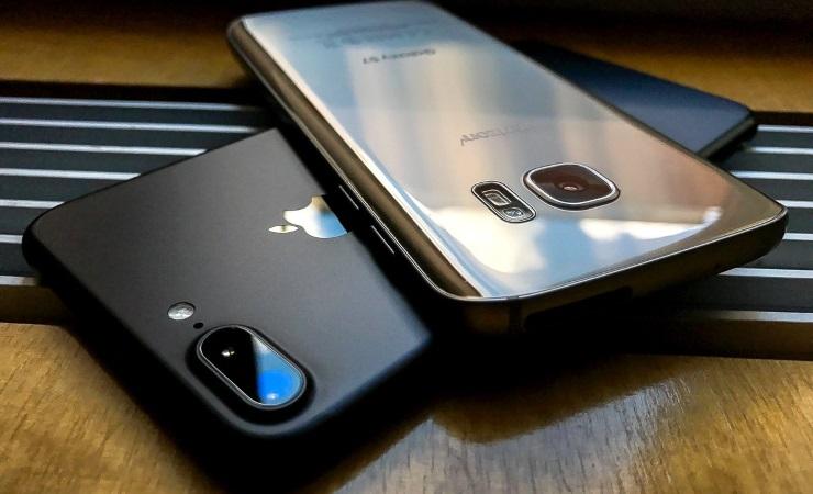 iPhone 7 Plus и Galaxy S7