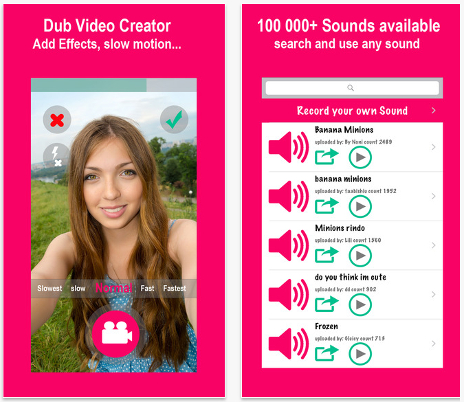 Video Creator For Musical and Feeds for Dubsmash