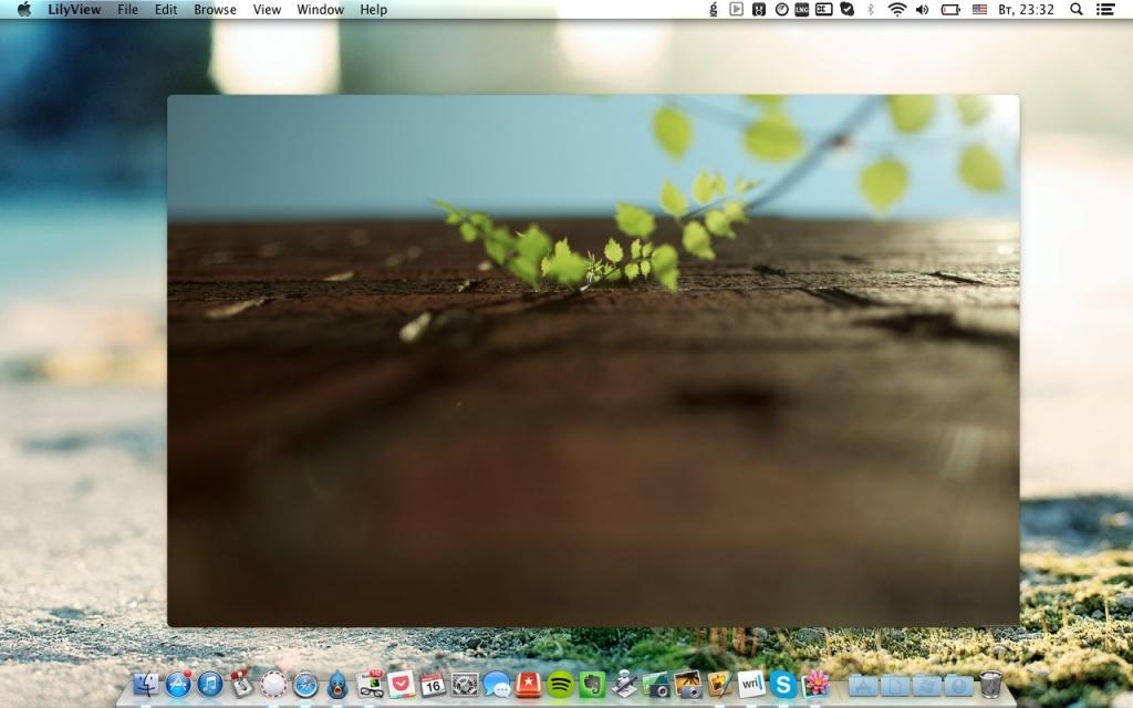 просмотр изображений mac